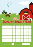 Personalised Farm Theme Reward Chart (adding photo option available)